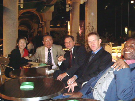Tokyo Club Dinner Oct 2007  - 9