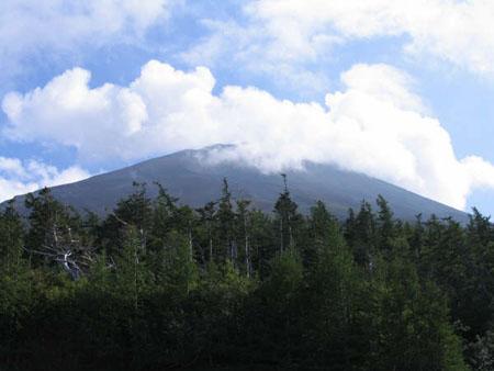 Mt Fuji 5th Station view