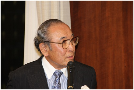 Mr Teruhisa Nakamura's speech at the Gokurosama Party held in his honour at Mitsubishi Club on July 6, 2012