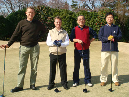 Hodogaya 2008 Golf players
