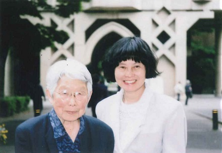 Prof. Ineko Kondo and Mrs Akiko Higuchi, May 22, 1999